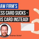Modern Attorney Business Cards That Your Potential Clients Will Want to Keep